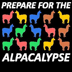 Prepare for the alpacalypse - Alpaca, Lama