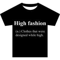Lustige Definition - High fashion
