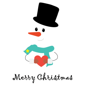 Merry Christmas Schneeman