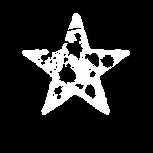 Kunstvoller Stern - spektakuläres Shirt
