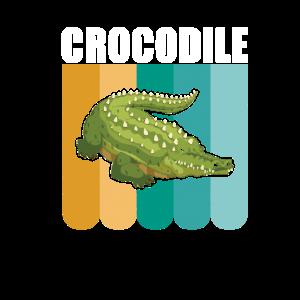 Krokodil Alligator Echse Reptil Geschenk Fluss