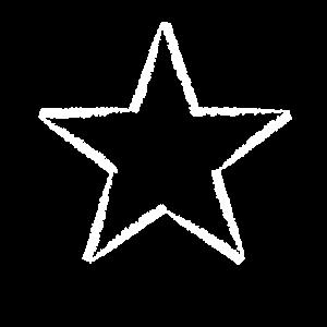 Kunstvoller Stern - schönes Shirt