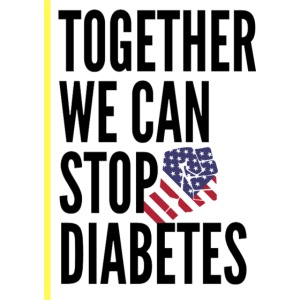 Together We Can Stop Diabetes world diabetes day