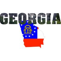 Georgia Hintergrund USA Geschenk Geschenkidee