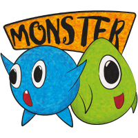 Funny Monster Duo