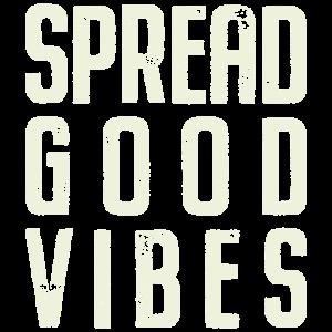 Verbreiten Sie gute Stimmung