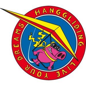 hanggliding pig