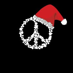 Hippie Christmas Peace Geschenk Weihnachten