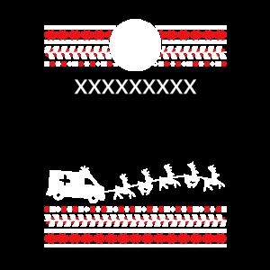 Krankenwagen Schlitten Weihnachten