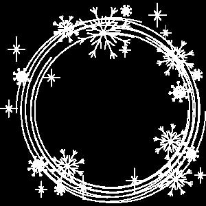 Winter Schneeflocken Geschenk Eis
