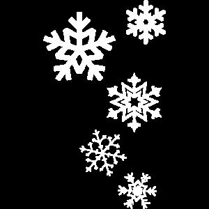 Schneeflocken Schnee Winter Eiskristalle