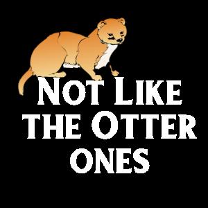 Otter Marder Geschenk Wiesel Lustig Besonders Tier