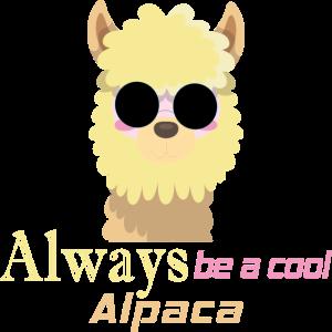 Alpaka - Cool - Lama - Sonnenbrille