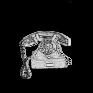 Wählscheibe Telefon Retro Geschenkidee