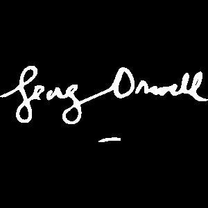 George Orwell Unterschrift