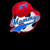 Mutter der Mutter-Sohn-Mutter des Fußball-Mutter Tages