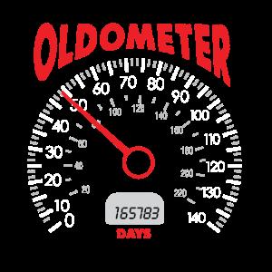 50. Geburtstag Oldometer Auto Mechaniker Shirt