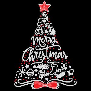 Merry Christmas Weihnachtsbaum