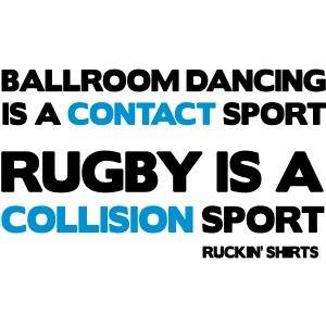 Rugby Is a Collision Sport
