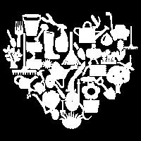 Herz für Gartenarbeit Gärtner Geschenk Gärtnern