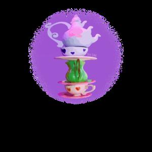 Tee-Zeit-Kreis