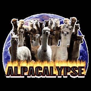 Alpaka Alpaca Alpacalypse Geschenkidee