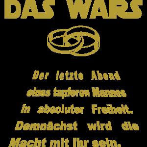 JGA Shirt DAS WARS