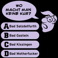 Bad Motherfucker, zweifarbig