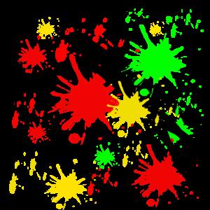 Kunst Farbkleckse,farbenfrohe malerei