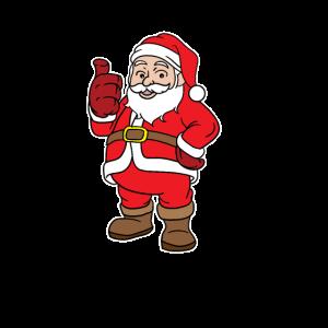 weihnachtsmann mit guter Laune