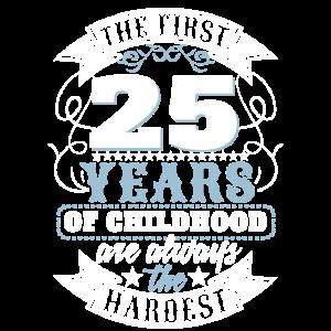 25 Jahre Kindheit