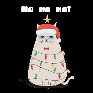 Weihnachten Grumpy Katze