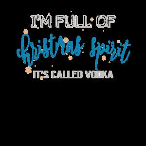 Weihnachten Voller Weihnachtsstimmung Wodka