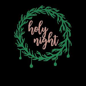 Holy Night Heilige Nacht Weihnachten