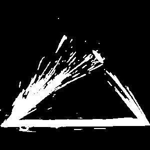 Illuminati Dreieck Design Buerste Variante 2