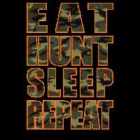 Jägerleben Essen Hunt Hunt Repeat wiederholen
