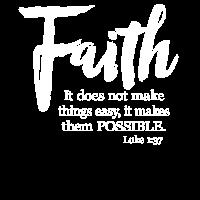Der Glaube macht Dinge möglich - Lukas 1:37