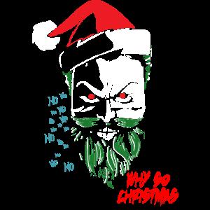 Joker Weihnachtsmann