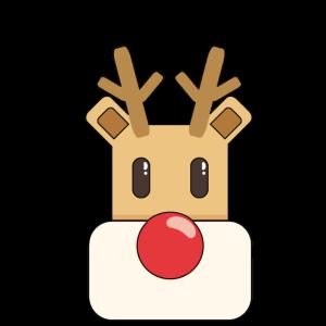 Rentier Süß Weihnachten Gechenk