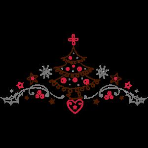 Weihnachten Weihnachtsbaum Lebkuchen Stechpalme
