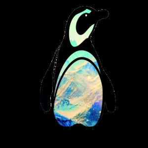 Pinguin Landschaft Antarktis