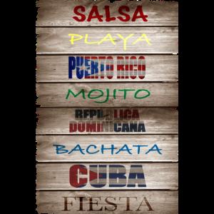 # Salsa Es La Cura Holzplatte Salsa