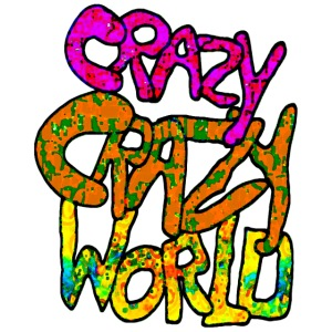 kleurige crazy crazy world