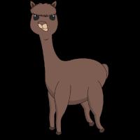 Knuffiges Pummeliges Alpaka