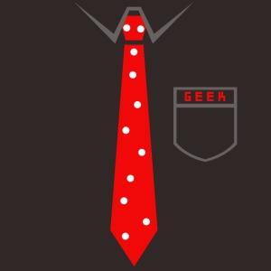 Geek | Schlips Krawatte Wissenschaft Streber