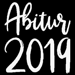 Abitur 2019 Abi Abishirt Schulabschluß Abschluß ws