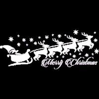 Santa merry christmas