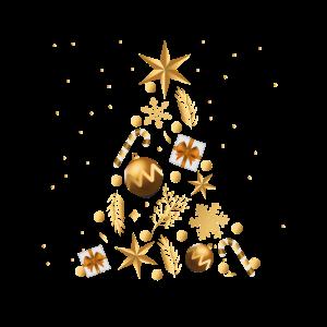 Zusammen gewürfelter Weihnachtsbaum