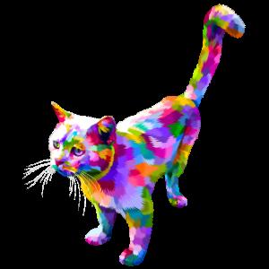 Katze Pop Art