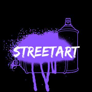 STREETART PURPLE